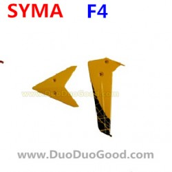 SYMA F4 Helicopter Parts, Tail Trim, orange, SM F4 2.4Ghz RC helikopter