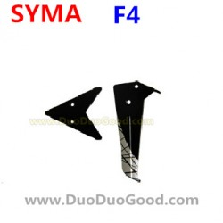 SYMA F4 Helicopter Parts, Tail blades, Black, SM F4 2.4Ghz RC helikopter
