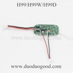 JJRC H99 H99W H99D Quadcopter Parts, Receiver Board, 2.4Ghz wifi fpv rc drone