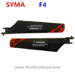 SYMA F4 Helicopter Parts, Main Propeller, RED, SM F4 2.4Ghz RC helikopter