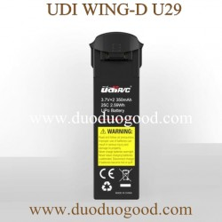 UDI WING-D U29 Drone Parts, 3.7V Battery, UDIRC WIFI FPV with Upgrade Camera