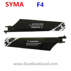 SYMA F4 Helicopter Parts, main propeller, black, symatoys ASSAULT F4 2.4Ghz RC helikopter