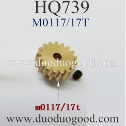 HuanQi HQ739 Car Parts, Motor Gear M0668, HQtoys HQ-739 1/10 Scale Racing