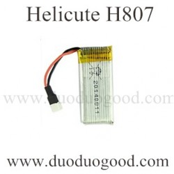 Helicute H807 Drone Parts, 3.7V Battery, H807C Quadcopter Ground running toys
