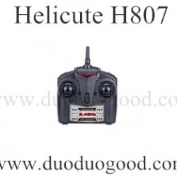 Helicute H807 Drone Parts, transmiter, H807C Quadcopter Ground running toys