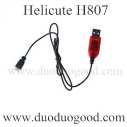 Helicute H807 Drone Parts, USB Charger, H807C Quadcopter Ground running toys
