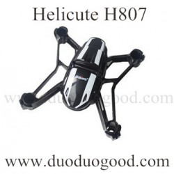 Helicute H807 Drone Parts, Body Shell, H807C Quadcopter Ground running toys