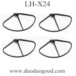 Lead Honor LH-X24 Quadcopter parts, Propeller Guards, Folding wifi fpv Drone