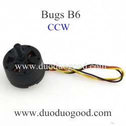 MJX BUGS B6 Quadcopter Spare parts, CCW Motor, Headless mode with Camera