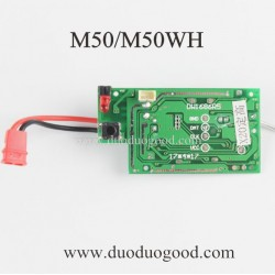 BO Ming M50 Explorer Quadcopter parts, Receiver board, M50WH WIFI FPV Drone
