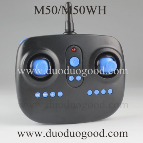 BO Ming M50 Explorer Quadcopter parts, Transmitter, M50WH WIFI FPV Drone