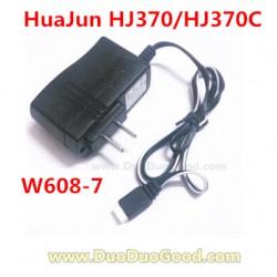 HuaJun Aeromodelling HJ370C Quadcopter, Charger, Hua Jun Pathfinder HJ370 W608-7 rc UFO Parts