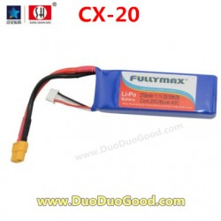 CXhobby CX-20 Quadcopter parts, LI-Po Battery, cx20 quadrocopter, CX-20C RC UFO 4 axis.