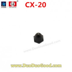 CXhobby CX-20 Quadcopter parts, motor Cover, black, cx20 quadrocopter, CX-20C RC UFO 4 axis.