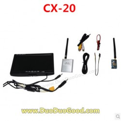 CXhobby CX-20 Quadcopter parts, Figure transmission equipment, cx20 quadrocopter, CX-20C RC UFO 4 axis.