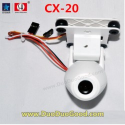 CXhobby CX-20 Quadcopter parts, Camera 5 million Pixels, cx20 quadrocopter, CX-20C RC UFO 4 axis.