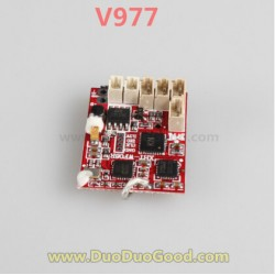Wltoys V977 Flybarless Helicopter parts, Receiver Board, PCB Board, WL-Model Toys Power Star X1 RC heli accessories