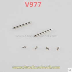 Wltoys V977 Flybarless Helicopter parts, Metal Pin screw, WL-Model Toys Power Star X1 RC heli accessories