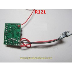RUNQIA Toys R121 Helicopter Parts, Receiver Board, PCB, Run Qia R-121 RC heli accessories