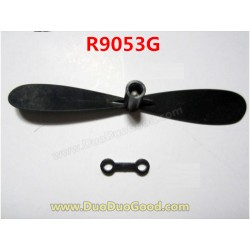 RUNQIA Toys R9053G Helicopter Parts, Tail rotor with Buckle, Run Qia helicopter model toys R9053 R-9053G 9053