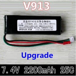 WLtoys V913 Helicopter parts, 2200mAh Upgrade Battery, Wl-model toys V-913 sky Leader 2.4Ghz Single Screw