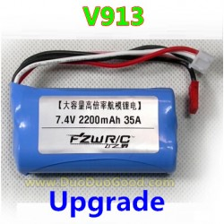 WLtoys V913 Helicopter parts, 2200mAh Upgrade Battery 35A, Wl-model toys V-913 sky Leader 2.4Ghz Single Screw