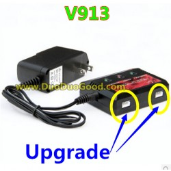 WLtoys V913 Helicopter parts, Upgrade Charger, Wl-model toys V-913 sky Leader 2.4Ghz Single Screw