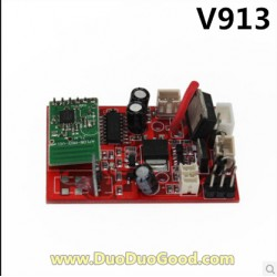 WLtoys V913 Helicopter parts, Receiver Board, Wl-model toys V-913 sky Leader 2.4Ghz Single Screw
