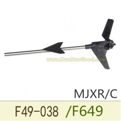 MJX F49 Shuttle Helicopter parts, Tail motor set, MJXR/C F649 remote control single helicopter