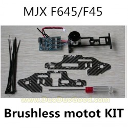 MJX F45 shuttle Helicopter Parts, Main Brushless Motor KIT, MJXR/C I-heli F645 remote control Helicopter, F-45 F-645