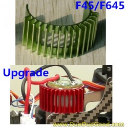 MJX F45 shuttle Helicopter Parts, main motor Heat Sink Green, MJXR/C I-heli F645 remote control Helicopter, F-45 F-645