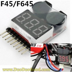 MJX F45 shuttle Helicopter Parts, Voltage Alarm, MJXR/C I-heli F645 remote control Helicopter, F-45 F-645