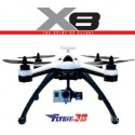 Flying3D X8 Quadrocopter  Parts