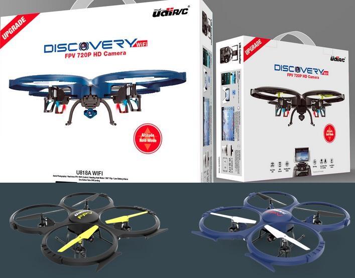 Udirc U818A WIFI FPV DRONE