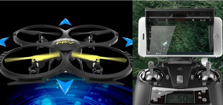 Udir/c U818A WIFI FPV Drone