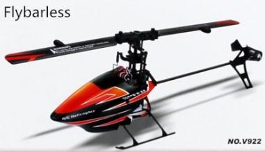 Wltoys V922 flybarless helicopter